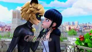 getlinkyoutube.com-Marinette x Chat Noir | Season 2 Kiss Scene (MariChat FANMADE Edit)