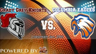 getlinkyoutube.com-Varsity Boys Basketball: Grady vs. Columbia