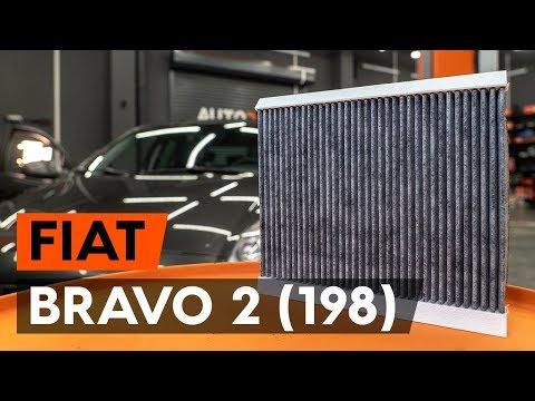 Как заменить салонный фильтр на FIAT BRAVO 2 (198) (ВИДЕОУРОК AUTODOC)