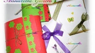 getlinkyoutube.com-Tutorial | Confezioni regalo per orecchini | gift boxes for earrings