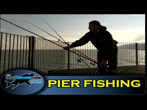 Pier fishing tips for Beginners (Part 1) - The Totally Awesome Fishing Show