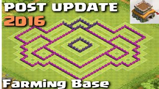 getlinkyoutube.com-POST UPDATE Town Hall 8 Farming Base with Town Hall Inside - Clash of Clans
