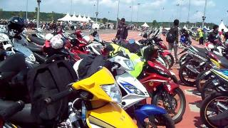 getlinkyoutube.com-OH! 135LC club ride to malaca .... auto... show