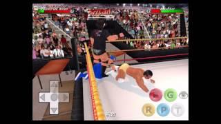 getlinkyoutube.com-Kalisto (c)  vs Alberto Del Rio - WWE Fastlane 2016 - Wrestling Revolution 3D