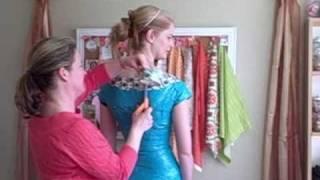 getlinkyoutube.com-Duct (Duck) Tape DRESS FORM (mannequin) Tutorial