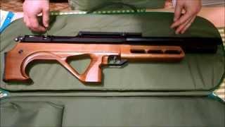 Unpacking and quick overview rifle EDgun Matador 0.22 PCP/ Распаковка ЭДган Матадор