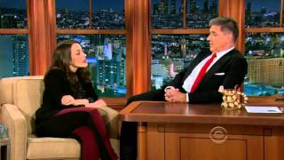 Kat Dennings Interview with Craig Ferguson