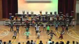 H24四季が丘小学校学習発表会 4年生「テキーラ」
