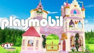 getlinkyoutube.com-Playmobil Princess Castle Collection!