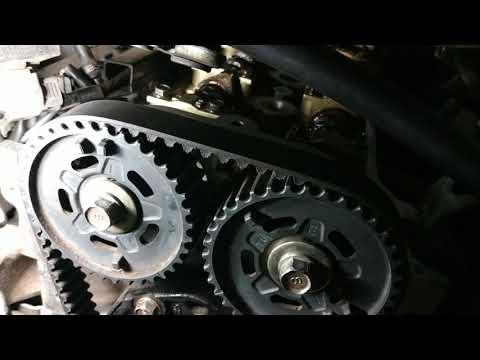 Mazda Familia ZL-DE Важный момент с метками