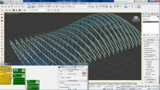 getlinkyoutube.com-Parametric trusses using pattern controller