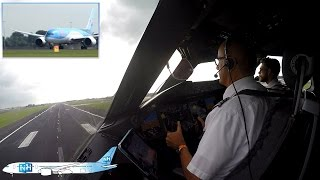 getlinkyoutube.com-TUIfly Boeing 787 Dreamliner COCKPIT VIEW from Amsterdam to Palma