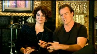getlinkyoutube.com-Toby Stephens and Anna Chancellor on the Andrew Marr Show - 14-07-2013