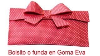 DIY: Bolsito  o funda por 1 euro. Makeup foamy bag