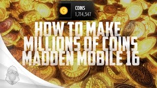 getlinkyoutube.com-HOW TO MAKE MILLIONS OF COINS IN MADDEN MOBILE 16