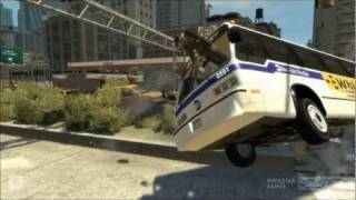 getlinkyoutube.com-Death Bus 3 (HD) - GTA 4 Crash Compilation