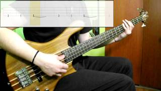 The Weeknd - Can't Feel My Face (Bass Only) (Play Along Tabs In Video)