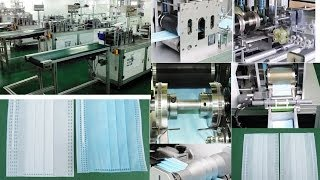 face mask making machine automatic surgical mask filling packaging processing equipment