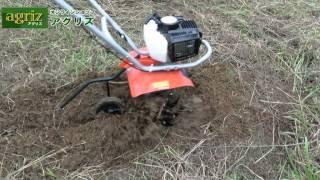 手軽に畑を耕したい方で草刈機をお持ちの方に!日工タナカ 耕うん機 管理機 TUH40EP(S)【農機具の通販なら「アグリズ」!】