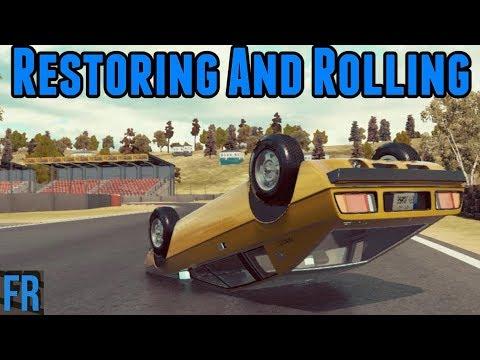 Restoring And Rolling A Lotus Esprit - Car Mechanic Simulator 2018
