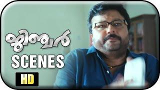 getlinkyoutube.com-Ginger Malayalam Movie | Scenes | Jayaram Saves Mallika | Tini Tom | Muktha George