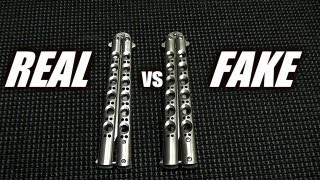 Real vs Fake Benchmade 42