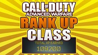 """Call of Duty Advanced Warfare: """"BEST RANK UP CLASS"""" - 100,000+ XP! (COD Advanced Warfare)"""