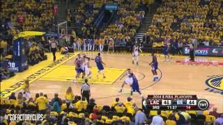 getlinkyoutube.com-Chris Paul And Stephen Curry Playoffs Fights 2013/14