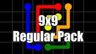 getlinkyoutube.com-Flow Free Walkthrough - Regular Pack 9x9: Levels 1-30