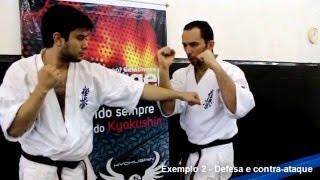 Defesa de socos e contra-ataque - Karate Kyokushin - Round One