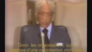 Krishnamurti à l'ONU