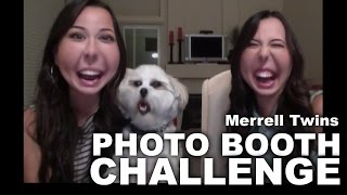 getlinkyoutube.com-PHOTO BOOTH CHALLENGE - Merrell Twins