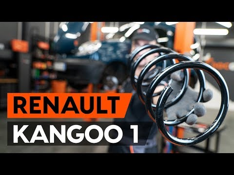 Как заменить пружину передней стойки амортизатора RENAULT KANGOO 1 (KC) (ВИДЕОУРОК AUTODOC)