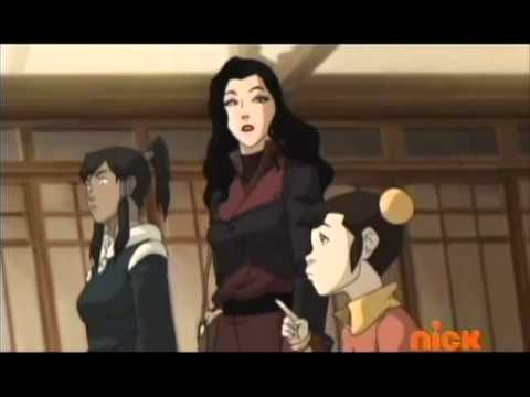 The Legend of Korra Funny Scene - Epic Korra face
