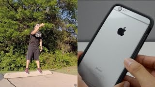getlinkyoutube.com-RhinoShield Crash Guard iPhone 6 Plus Drop Test & Review | World's Most Durable Bumper?