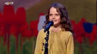 getlinkyoutube.com-Holland's Got Talent - Amira (9) sings opera O Mio Babbino Caro - Full version