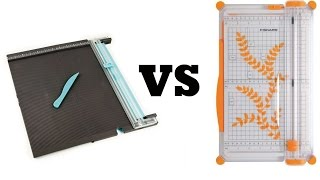 getlinkyoutube.com-Massicot FISKARS vs WE R MEMORY KEEPERS