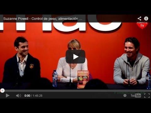 Suzanne Powell - Control de peso, alimentación consciente - Madrid 06-03-2014 AmateTV