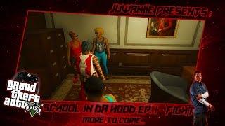 getlinkyoutube.com-GTA5 School Life In Da Hood Ep. 1 - Fight!