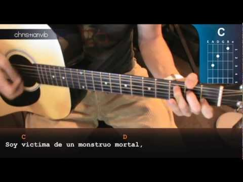 Como tocar El Chancro Voraz (Vete a la Versh)  En Guitarra (HD) Tutorial