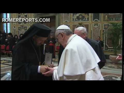 Pope meets with religious leaders   highlights his commitment to inter-religious dialogue