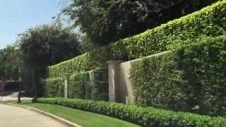 Tour the finest street in Los Angeles - Mapleton Drive in the Holmby Hills area.