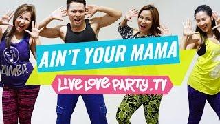 getlinkyoutube.com-Aint Your Mama by JLo   Zumba®   Dance Fitness   Live Love Party