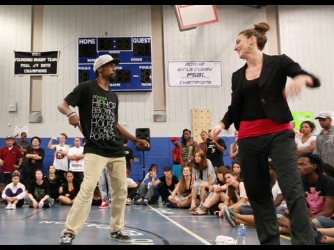 VENOM vs MARIE POPPINS | Step Ya Game Up 2012 Popping FINALS | Funk'd Up TV