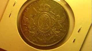 getlinkyoutube.com-Monedas Antiguas Mexicanas -  Peso Maximiliano