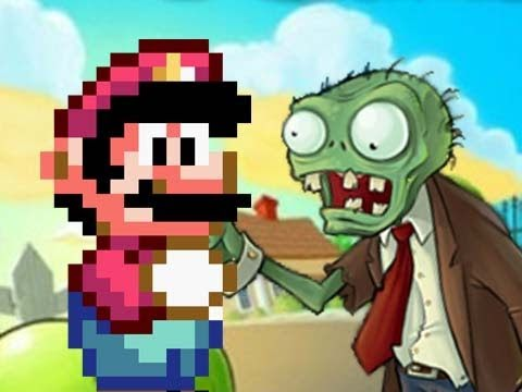 Mario vs. Plants vs. Zombies