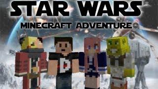 getlinkyoutube.com-Star Wars Minecraft Adventure
