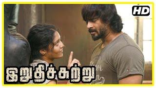 getlinkyoutube.com-Irudhi Suttru Tamil Movie | Boxing Scenes | R Madhavan | Ritika Singh | Nasser | Sudha Kongara