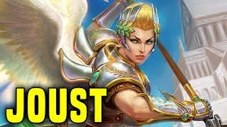 getlinkyoutube.com-OMG Nike! The New Goddess Is Awesome! | Smite Nike Joust Gameplay (Nike Build)