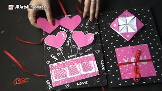 getlinkyoutube.com-Scrapbook Idea | JK Craft Ideas 011